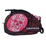 Borsone Beach Tennis Turquoise SUPER PRO BAG BLACK DEATH RED 2019